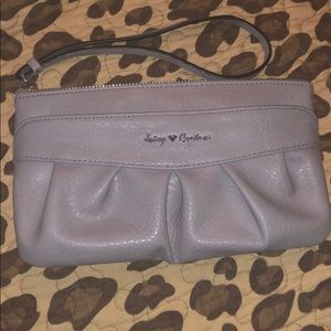Juicy couture wristlet with lots of room